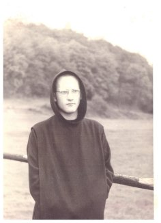 il giovane monaco Benedettino futuro Metropolita Evloghios