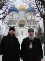 Manastirea Sf.Serghey de Radonej Rusia . Vladica Nicodim de Edinet si Vladica Avondios
