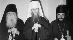 Sf.Filaret al Americii impreuna cu ierarhi greci hirotoniti de ROCOR